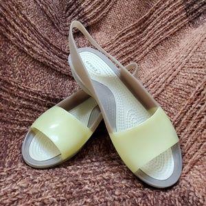 Crocs sandals multi color